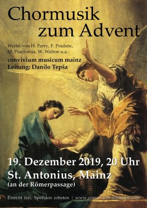 Chormusik zum Advent
